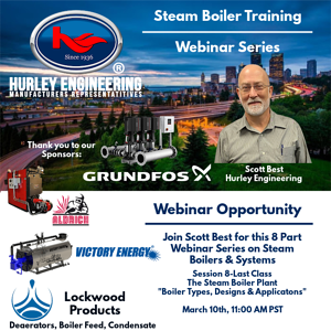 Digital Training Center-Steam Boiler-March 10th
