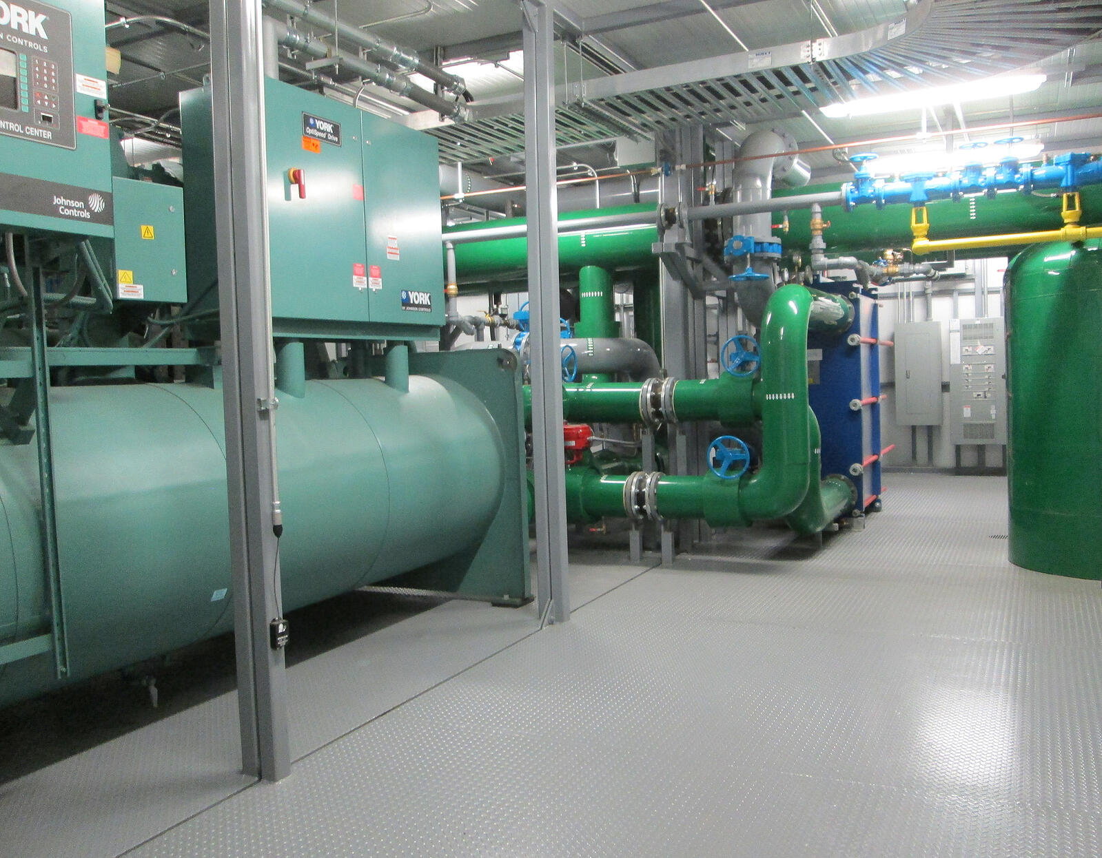 Envirosep Cover-Central Chiller Plant