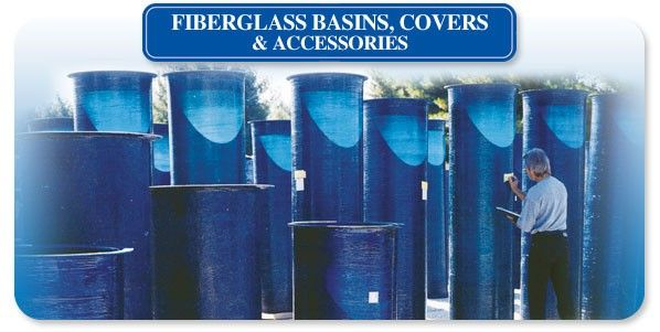 Fiberglass Basins - Custom