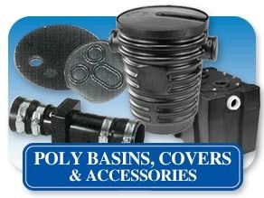 Poly Basins & Accessories