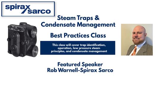 Spirax Sarco Webinar