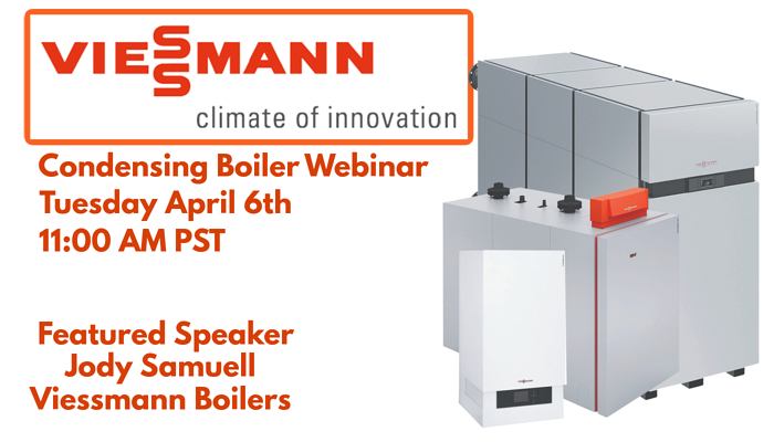 Viessmann Condensing Boiler Webinar