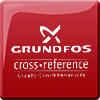 Grundfos CrossReference button